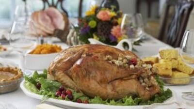 Cena del Día de Acción de Gracias.
