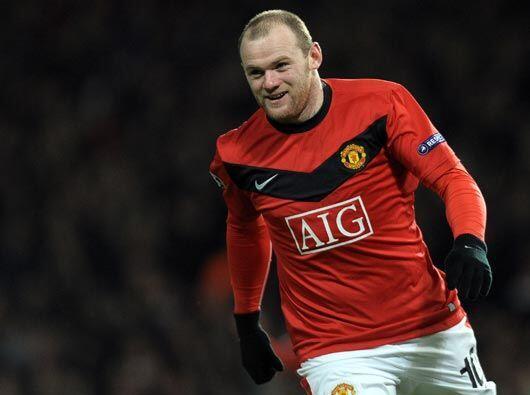 Rooney lleva cuatro goles en 'Champions' y 23 en la 'Premier League'.