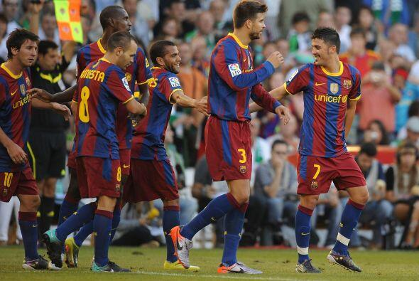 Aunque ya sufrió un doloroso traspié en la Liga española, el Barça no de...