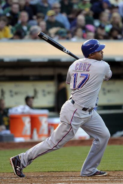 RF. Nelson Cruz. Rangers de Texas. El dominicano ha tenido una campaña s...