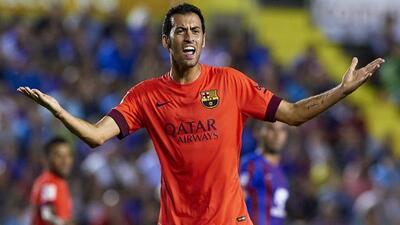 El escudo barcelonista prefiere pensar sólo en su equipo, que debe salir...