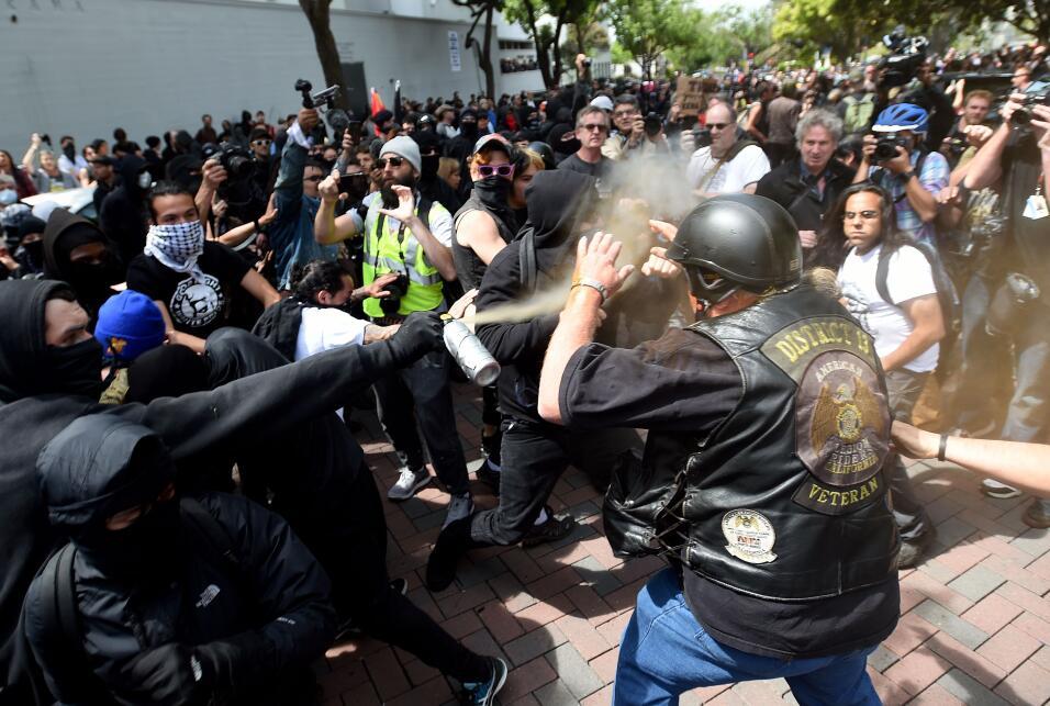 Protestas trump