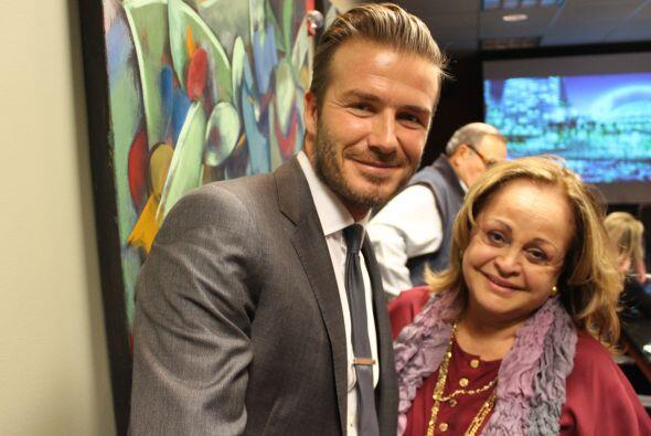 Beckham y Chuny Montaner, Content Manager Univision America y AM Stations.
