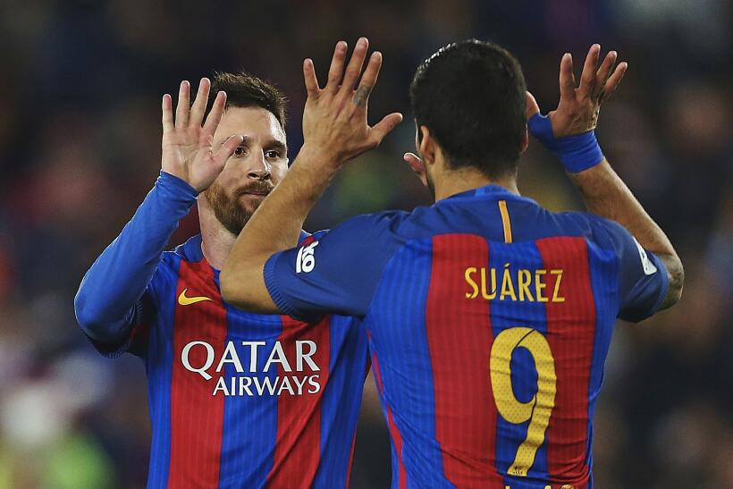 Messi y Suárez mantienen al Barcelona al acecho del Madrid 6362555670438...