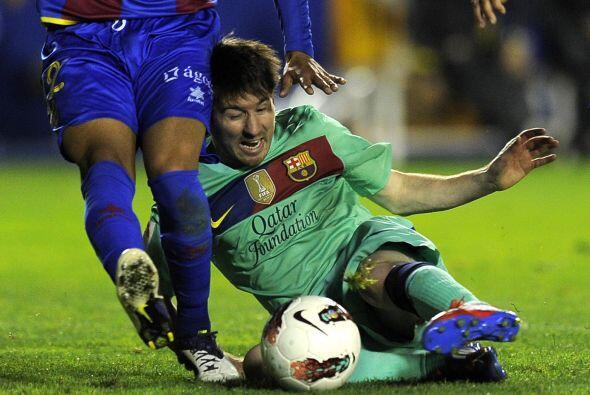 Lionel Messi y sus compañeros no jugaron con todos los titulares, aunque...