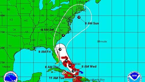 Así se vivió en Haití la llegada del huracán Matthew