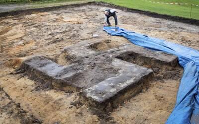 El símbolo nazi fue hallado por trabajadores de la construcci&oac...