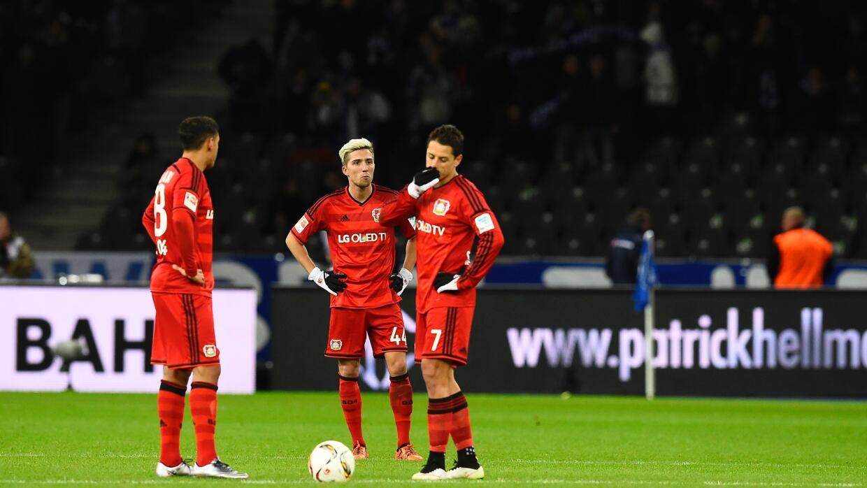Bayer Leverkusen perdió en su visita a Berlín