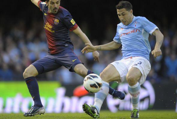 David Villa sustituyó a Alexis.