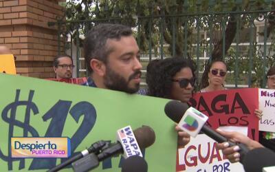 Un colectivo de profesores del recinto universitario de Río Piedras se m...