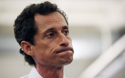 Anthony Weiner se lanzó a la alcaldía de Nueva York en 201...