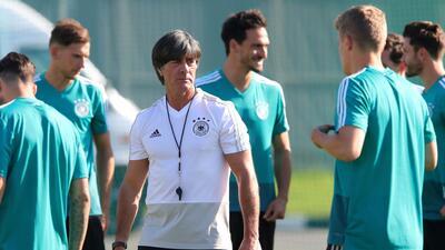 En fotos: Alemania se alista para su debut en el Mundial contra México