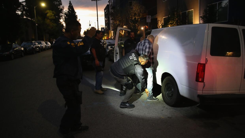 Operación para detener inmigrantes indocumentados en Los Ángeles realiza...