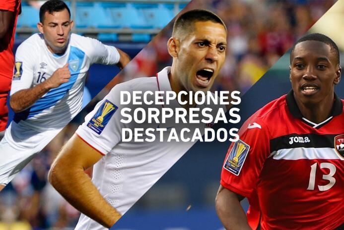 Decepciones, sorpresas y destacados de la MLS en la Copa Oro