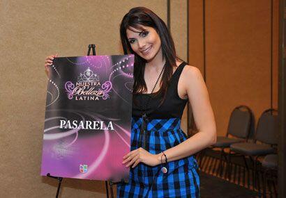 Cynthia Olavarría participó en Miss Universo 2005.