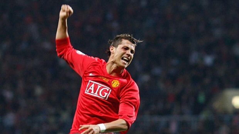 CR7 fue ídolo con el Manchester United