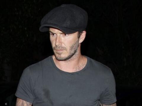 Por si alguien tenía dudas de los modales de Beckham basta ver es...