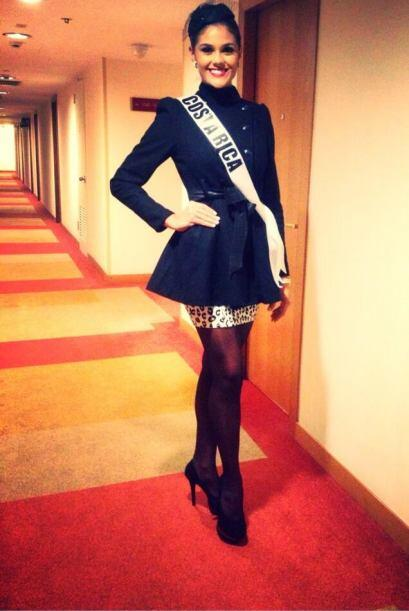 Fabiana, disfrutó mucho ser Miss Costa Rica.