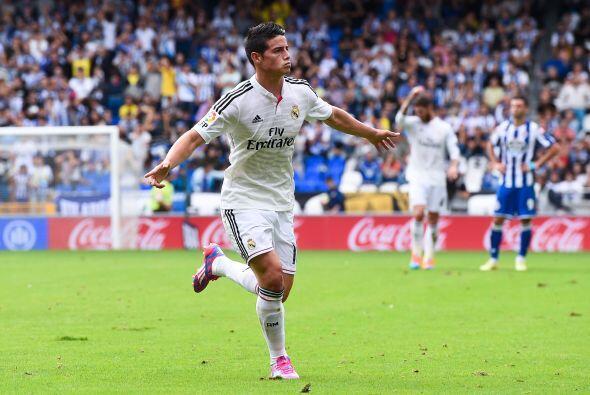 Las actuaciones y goles de James Rodríguez con la Selección Colombiana e...