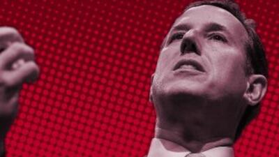 Rick Santorum, candidato republicano