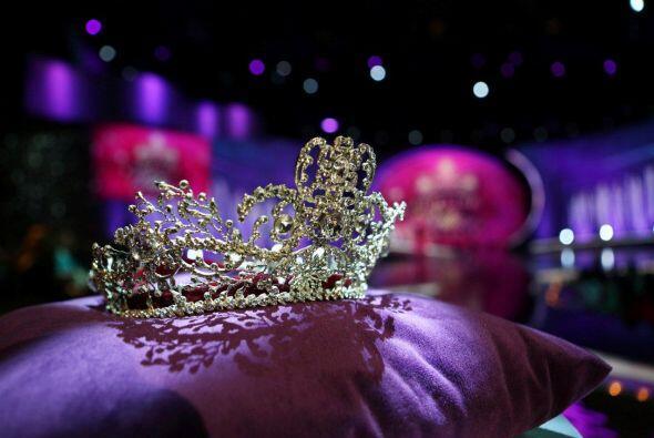 La corona de este año fue al espacio.