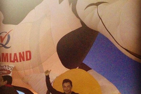 Además, le tocó presenciar el Balloon Fest 2014.