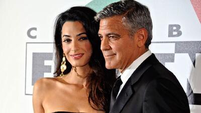 George Clooney suelta la lengua y da detalles de su boda