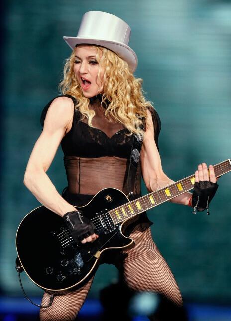 Madonna respondió a los rumores, afirmando que nunca estuvo vinculada se...