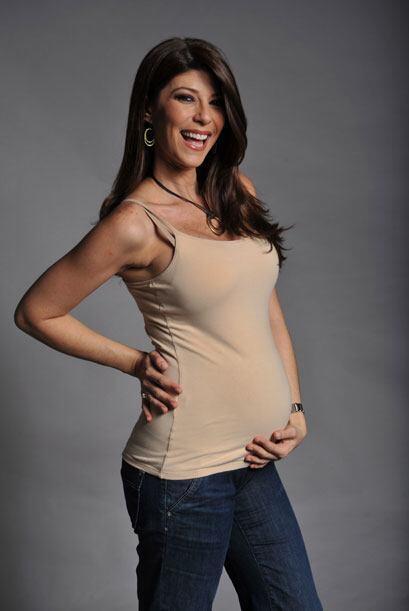 Anabelle está más feliz que nunca disfrutando de su primer embarazo.