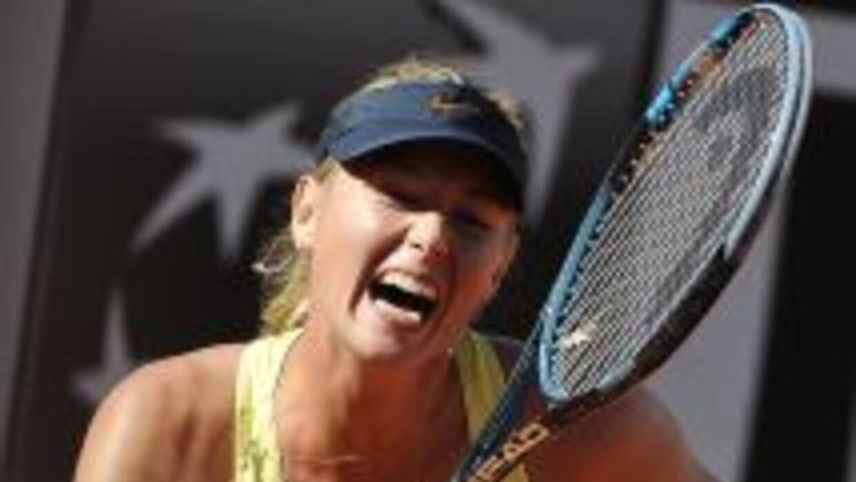 Sharapova conoce bien el torneo del Foro Itálico, en el que ha participa...