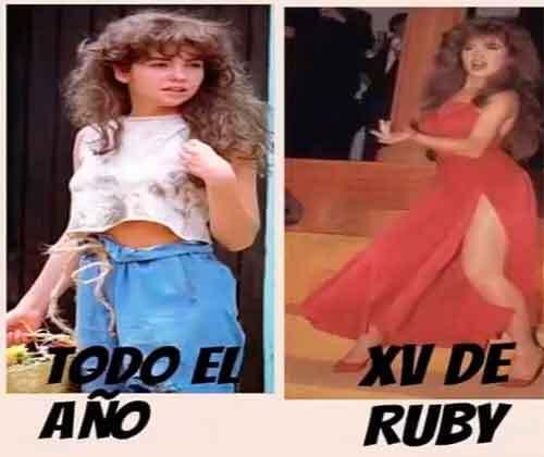 A Lucero no le gustan las burlas hacia Rubí y sus XV años memes-xv-anos-...