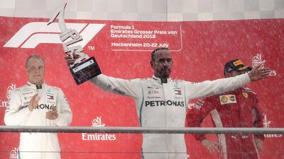 En fotos: Lewis Hamilton recupera el liderato de la Fórmula 1 con un increíble triunfo