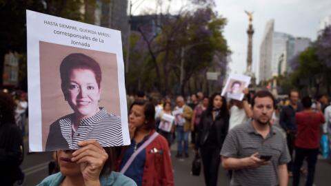 Marcha en Ciudad de México el 25 de marzo en repudió al as...