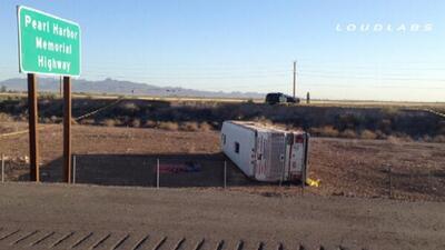 Muertos y heridos tras accidente en autopista 10