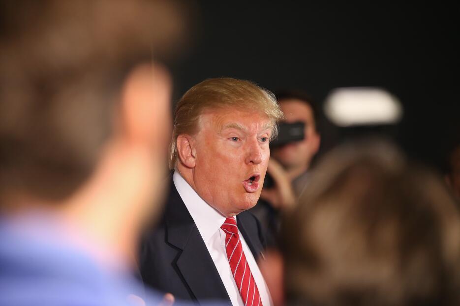 Fotógrafos han capturado a Donald Trump haciendo muecas divertidísimas