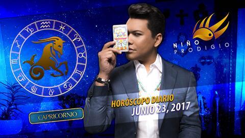 Niño Prodigio - Capricornio 23 de junio 2017