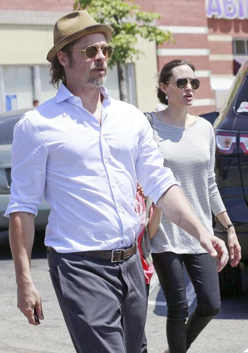 Angie y Brad