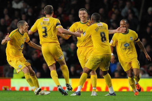 Los visitantes no lo podían creer, se imponía en Old Trafford un club de...