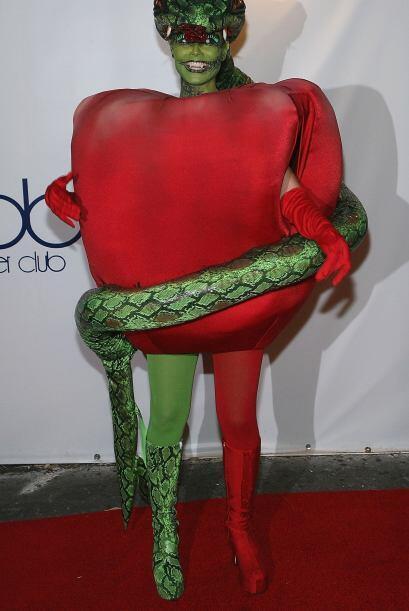 Una famosa que siempre nos sorprende en Halloween es Heidi Klum, pues re...