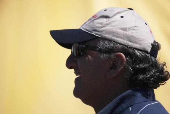 José Henríquez,  de 56 años, fue el minero que cump...