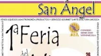 Feria del queso y vino en San Angel