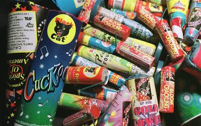 Inicia la venta de juegos artificiales para la celebración del Día de la...
