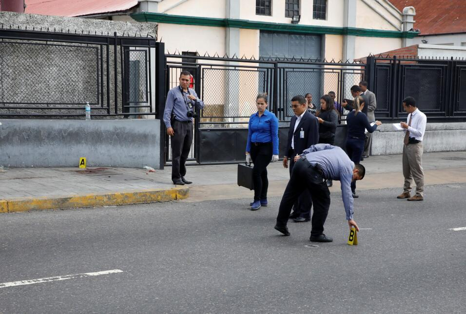 """Me gritaban sapo (soplón)"": el periodista venezolano herido en el plebi..."