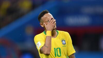 ¡Chao Neymar! La poca participación del '10' de Brasil en su eliminación de Rusia 2018