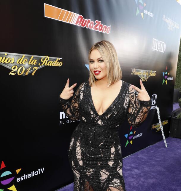 De impacto: mira el enredado 'look' de 'Chiquis' Rivera en los Premios d...