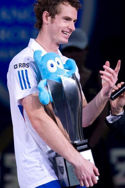 Murray se proclamó ganador del Másters 1.000 de tenis de Shanghai.