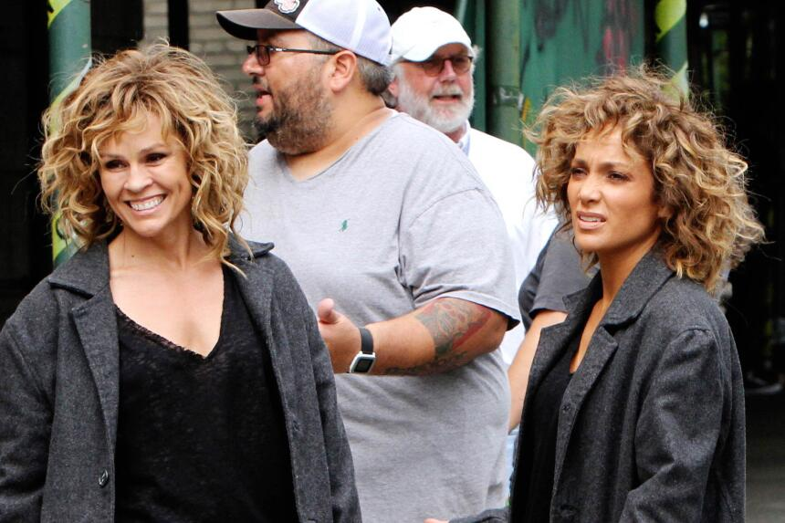 Durante las últimas grabaciones, Jennifer López requirió del apoyo de su...