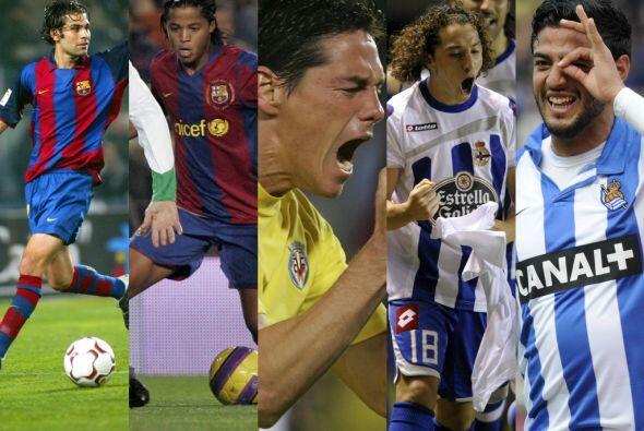 En la temporada 2007-2008 militaban en España: Rafael Márquez, Carlos Ve...