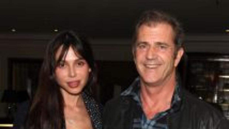 Oksana Grigorieva y Mel Gibson en mejores épocas: el 4 de marzo del 2010...