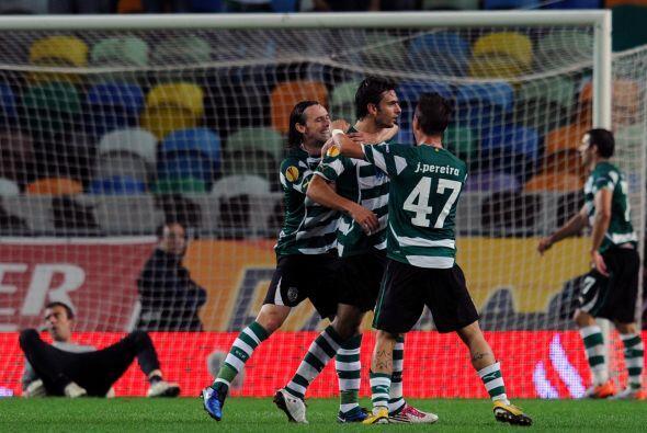 La mayor goleada de la jornada la registró el Sporting de Lisboa en su d...